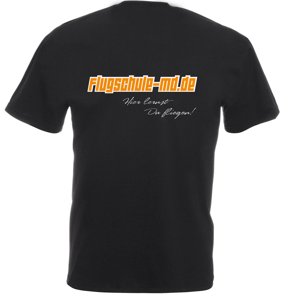 Piloten T-Shirt Flugschule-md.de